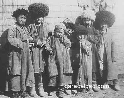 Qaraqalpaq children in the 1920's