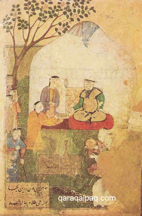 Shaybani Khan's Turkic yurt at Samarkand, 1502 - 1507