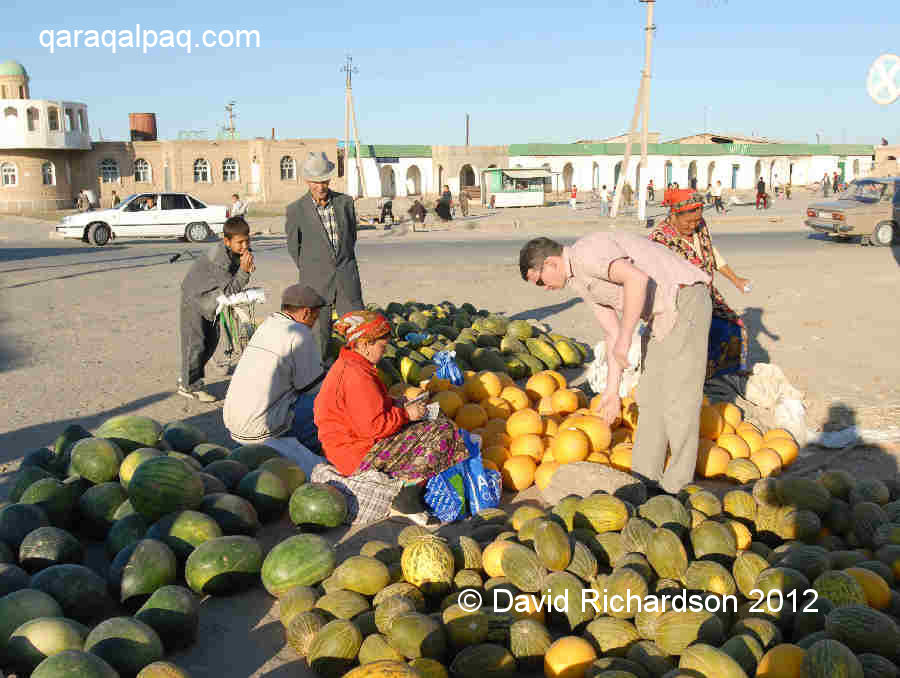 Buying melons