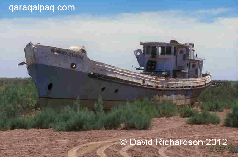 Ship's graveyard at Moynaq